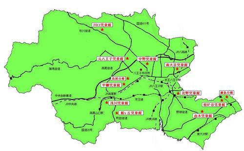 地図と施設名から探す|八王子市...