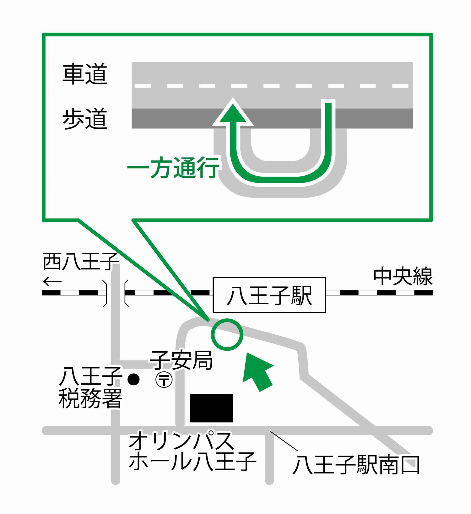 八王子駅南口一般車乗降場の開設について|八王子市公式ホームページ